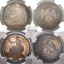 1879 Échange 1 Dollar (argent) Preuve Ngc Pf-64