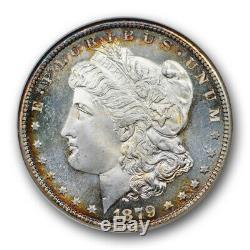 1879 S Morgan Dollar 1 $ Ngc Ms 66 Pl Preuve Comme Old Fatty Cac Approuvé