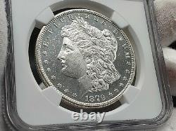 1879 S Morgan Silver Dollar Pièce Ngc Unc Bu Grande Preuve D'appel Oculaire Comme Dmpl
