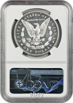 1880 $1 Ngc Pr 61 Star Strong Mirrors! Dollar D'argent De Morgan