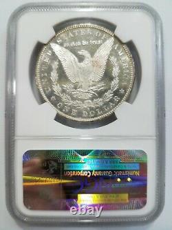 1880 S Argent Morgan Dollar Ngc Ms 63 Dmpl Miroirs Profonds Preuve Comme Pl Dpl