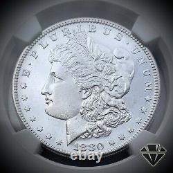 1880-s Morgan Silver Dollar Ngc Ms65 Dpl Deep Mirror Proof-like