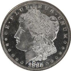 1880-s Ngc Argent Morgan Dollar Ms65 Star Pl Blanc Explosion Proof Comme Surfaces