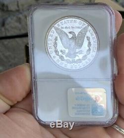 1881 S Morgan Dollar En Argent! Ngc-ms64! Miroir Réfléchissant Coin! Preuve Comme