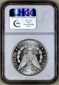 1881-s Mme64 Pl Ngc Appel Visuel De Morgan Silver Dollar Ressemblant À Une Preuve