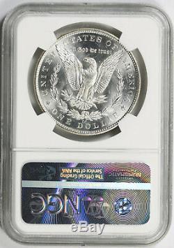 1882-cc Argent Morgan Dollar 1 $ Ms 63 Pl Preuve Comme Ngc