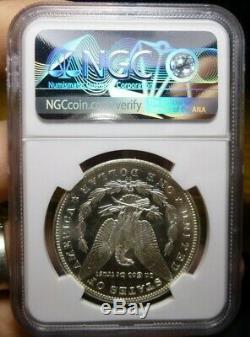 1882-cc Morgan Silver Dollar Ngc Ms62 Pl Preuve Comme