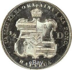 1883 Hawaii Half Dollar Ms63 Pl Ngc 50 ¢ Star 1/2 Dollar Proof-like Miroirs