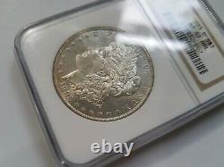 1883 O Argent Morgan Dollar Ngc Ms 63 Dpl Miroirs Profonds Preuve Comme Pl Dmpl