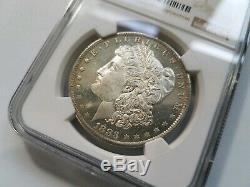 1883 O Argent Morgan Dollar Ngc Ms 63 Dpl Preuve Profonde Mirrors Comme Pl Dmpl