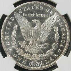 1883-cc Carson City Monnaie Preuve-comme Morgan Silver Dollar Ngc Ms 65 Pl