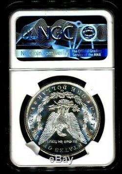 1883-cc Morgan Ngc Ms-65 Pl Preuve Comme Looks Silver Dollar Coin Carson City Monnaie