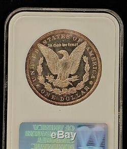 1883-cc Ngc Ms63pl Preuve Comme Morgan! Grande Cameo Et Miroirs! Titulaire Old Fatty