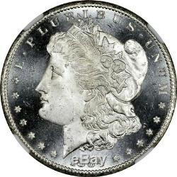 1884 CC 1 $ Morgan Silver Dollar Ngc Ms67 + Pl Preuve Identique Soient Ms68