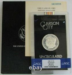 1884 CC Carson City Gsa Hoard Ngc Ms 64 Proof Like Pl Morgan Silver Dollar