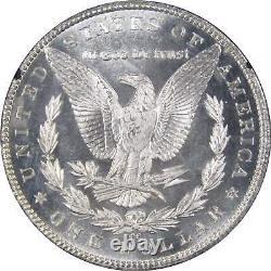1884 CC Gsa Morgan Dollar Ms 63 Pl Ngc 90% Argent $1 Proof-like Us Pièce