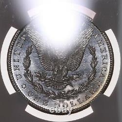 1884-cc Morgan 1 $ Ngc Certifié Ms62 Dpl Deep Mirror Proof Like Silver Dollar