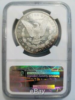 1885 Argent Morgan Dollar Ngc Ms 63 Dpl Preuve Profonde Mirrors Comme Pl Dmpl Toned