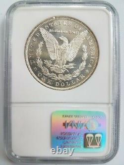 1885 O Argent Morgan Dollar Ngc Ms 63 Dpl Miroirs Profonds Preuve Comme Dmpl