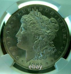 1885-o Morgan Silver Dollarngc Ms66 Proof Likesuperb Eye Appeal Mirror Fields