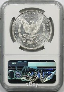 1887 1 $ Ngc Ms 64 Pl (proof-like) Morgan Silver Dollar