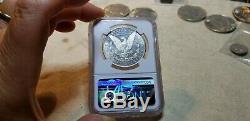 1889 CC Morgan Silver Dollar Ngc Ms 62 Pl- Preuve Comme