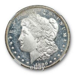 1890 CC 1 $ Morgan Dollar Ngc Ms 62 Dmpl Ongecirculeerd Preuve Profonde Miroir