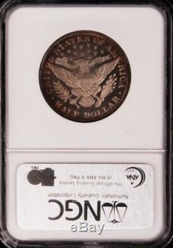 1892 Barber Half Dollar Ngc Pr65 Pf65 Cameo, Beauté