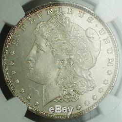 1892 Morgan Silver Dollar Pièce De 1 $ Ngc Ms-63 (proof-like, Date Rare Pour Pl)