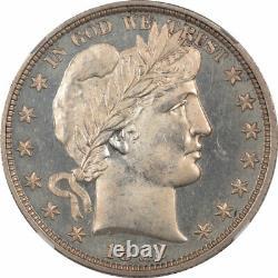 1892 Proof Barber Demi-dollar Ngc Pf-65 Looks Cameo