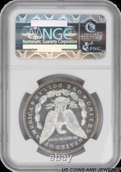 1893 Morgan Silver Dollar Proof Ngc Pr62 Frosty Two Tone Ebony Proof