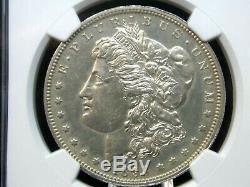 1893 P Morgan Silver Dollar $ 1 Démonstrateur Ngc Pf58 Côte Est Coin & Collectables