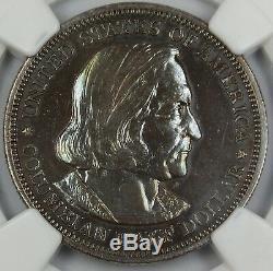 1893 Preuve Colombienne Commémorative Demi-dollar, Ngc Détails (poli)