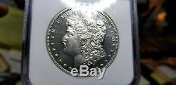 1895 Preuve Morgan Silver Dollar 1 $ Ngc Pr 63 Cameo Incroyable Clé Coin