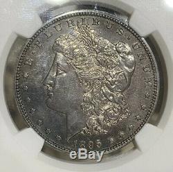 1895-p Ngc Pf62 Morgan Silver Dollar Proof Gem Coin