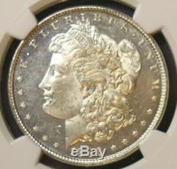 1896 Ngc Ms64pl (preuve-like) Silver Dollar Morgan # 18985