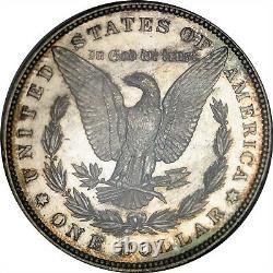 1896 $ $ Ngc Ms 63 Dpl (proof Profonde Comme) Morgan Dollar D'argent