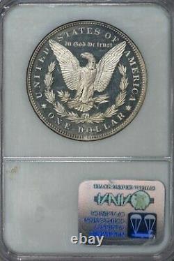 1898 Morgan Ngc Pr66cam Cameo Magnifique Dollar D'argent Proof