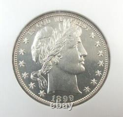 1899 Barber Half Dollar 50c Ngc Pr62 Us Silver Proof Coin Philadelphie 001