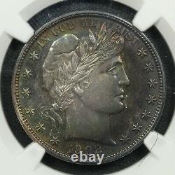 1902 Proof Barber Argent Demi-dollar Ngc Pr 64