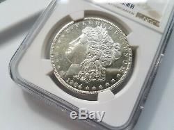1904 O Argent Morgan Dollar Ngc Ms 61 Dpl Profonde Mirrors Preuve Comme Pl Dmpl Udm