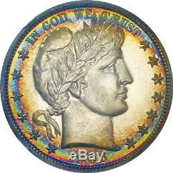 1906 50c Ngc Barber Pr65 Half Dollar (twin Pedigrees) 3500 $ Ngc Pgv Sur 26/11/19