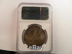 1921 La Paix Dollar High Relief Ngc Ms 64 1 Struck $ Avec Dies Proof! Coins Rne