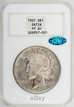 1921 Paix 1 Ngc Pr $ 64