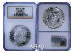 1921 S Ms65 Morgan Silver Dollar Semi Pl / Proof Like / Old Holder Gras