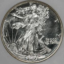 1942 Proof Walking Liberty Demi-dollar 50c Ngc Certifié Pf 67 (002)