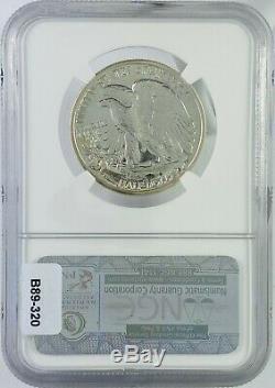 1942 U. S. Preuve Walking Liberté Demi-dollar Classé Pf67 Par Ngc
