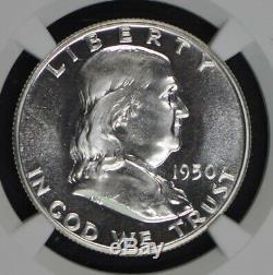 1950 Franklin Half Dollar 50c Ngc Pr67