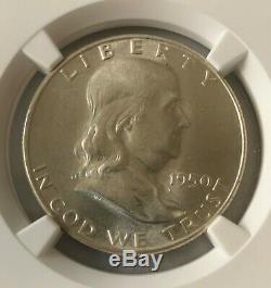 1950 Franklin Half Dollar Ngc Pf67 Preuve 67