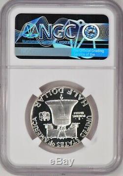 1950 Franklin Half Dollar Preuve Ngc Pf 67 Cameo / Pr67cam Super Frosty Coin